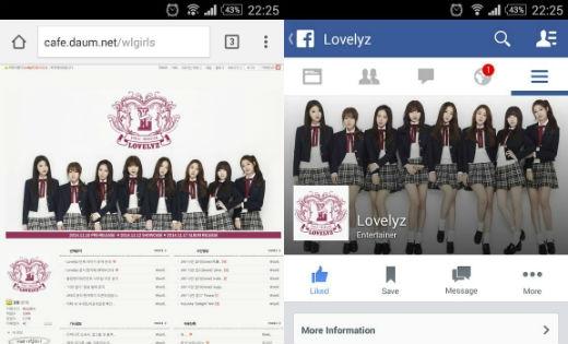 Woolim chính thức mở fanpage cho Lovelyz