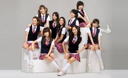 Ngắm cận mặt nhóm nhạc nữ SNSD thứ 2