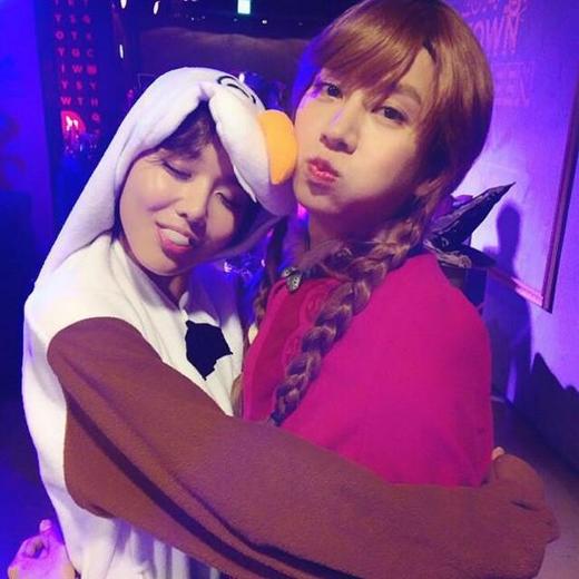 Sooyoung đáng yêu bên nàng Anna (Heechul)