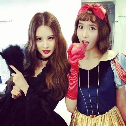 Yoona trở thành nàng bạch tuyết ngây thơ