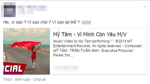 Những lời bình luận thiếu tích cực về sản phẩm âm nhạc mới củaHọa mi tóc nâu.