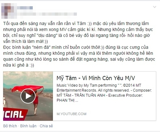 """Cộng đồng mạng """"ngán ngẩm"""" với MV mới của Mỹ Tâm"""