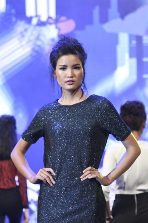 Chà Mi 'lột xác' hoàn toàn kể từ khi tham gia Vietnam's Next Top Model 2013.