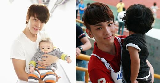 Bên cạnh đó, một số thần tượng khác cũng được cho là những sao nam có thể trở thành người cha hoàn hảo trong tương lai như: Key (SHINee), Donghae (Super Junior),Lee Min Ho, Leeteuk (Super Junior)…