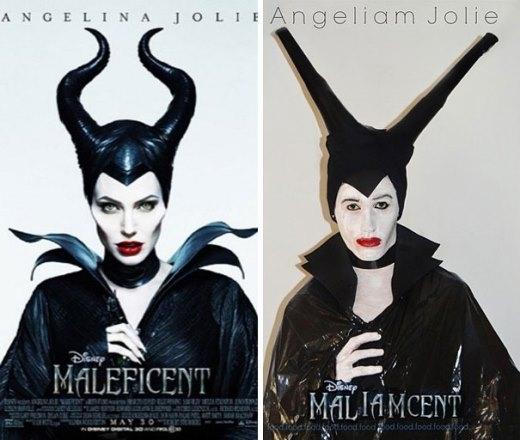 Maleficent phiên bản 'túi đựng rác'