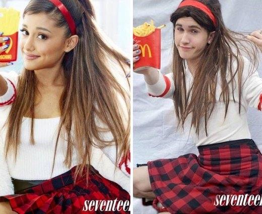 Ariana Grande cũng xuất hiện