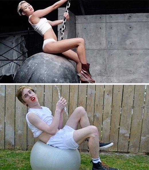 Wrecking Ball đây sao?