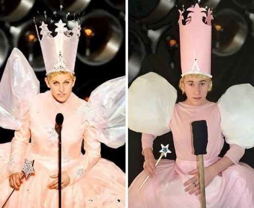 Ellen DeGeneres khá hoành tráng