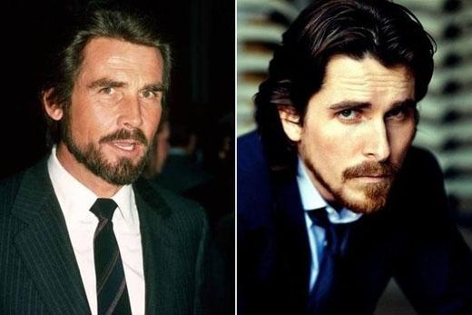 James Brolin lúc trẻ và Christian Bale