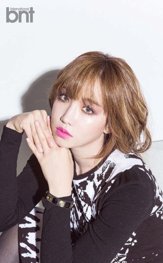 Ngắm Lee Yoo Ri lột xác trên tạp chí BNT International số tháng 11.