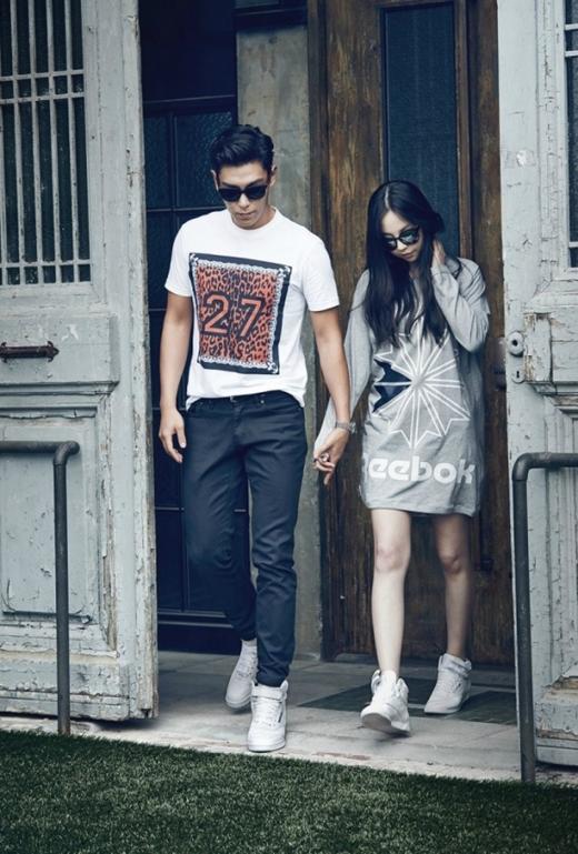 Sự kết hợp ăn ý của Sohee và T.O.P đã khiến nhãn hàng Reebok vô cùng hài lòng khi mời họ là gương mặt đại diện và gửi thông điệp mà nhãn hàng muốn hướng đến.