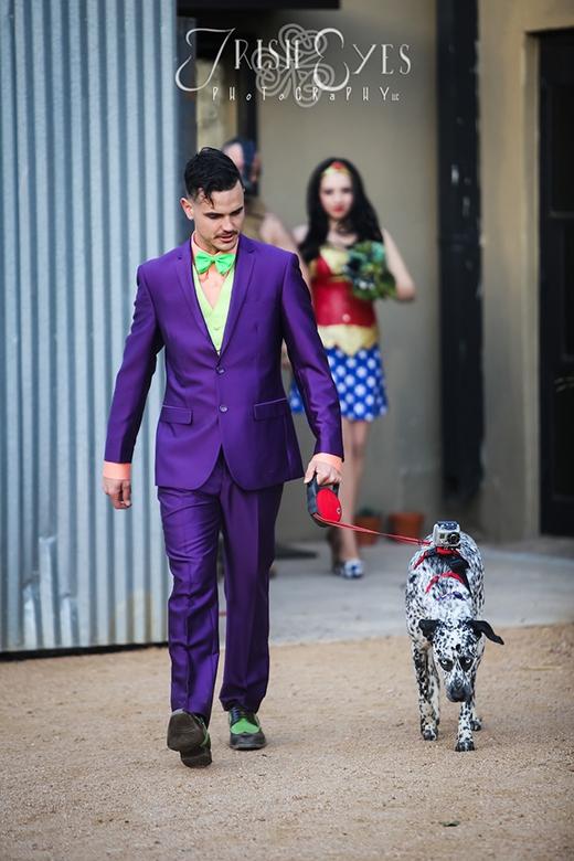 Chú rể Joker Ryan Jeiorki
