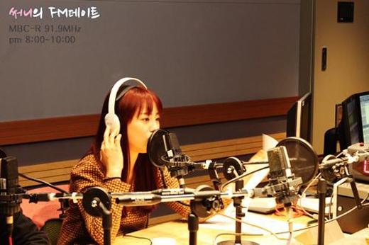 Youngji trong chương trình radio Sunny FM Date
