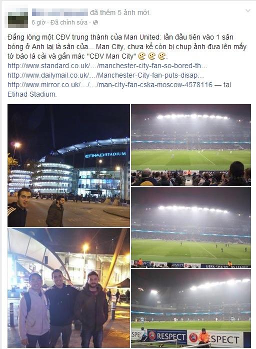 Fan Việt bất ngờ thành ngôi sao trên báo Anh