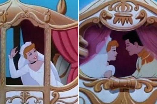 Không ai biết được làm thế nào mà tay áo cưới của Lọ Lem lại được cắt ngắn nhanh đến thế?
