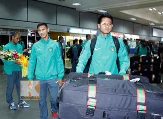 Cầu thủ Indonesia có thể hình khá cao to