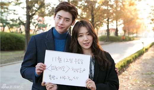 Trước đây Park Shin Hye và Lee Jong Suk cho thấy sự ăn ý với nhau qua những mẩu quảng cáo thì mới đây cặp đôi đã có cơ hội hợp tác cùng nhau qua bộ phim Pinocchio đang phát sóng trên đài SBS. Tuy chỉ mới phát sóng vài tập đầu nhưng phản ứng hóa học của cặp đôi đang nhận được rất nhiều mong đợi của khán giả cũng như các fan.