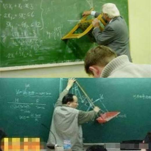 Những thầy giáo vô cùng sáng tạo