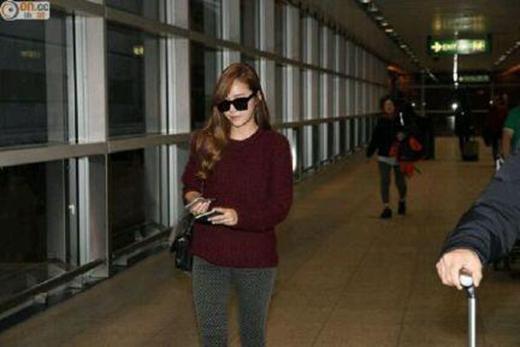 Jessica chính thức lộ diện tại Hàn sau khi rời nhóm