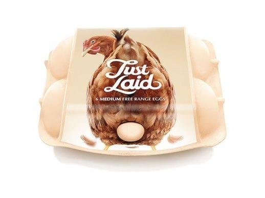 Nhìn vào bao bì chắc chẳng ai phải nghi ngờ về nguồn gốc trứng gà đúng không? Quá rõ ràng rồi còn gì.