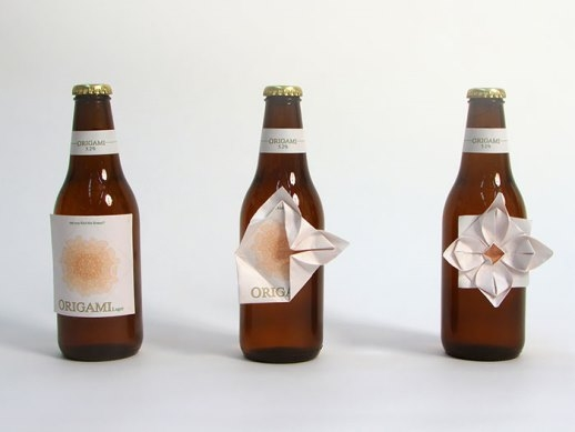 Đã trót uống bia Origami là phải biết xếp giấy chứ nhỉ?