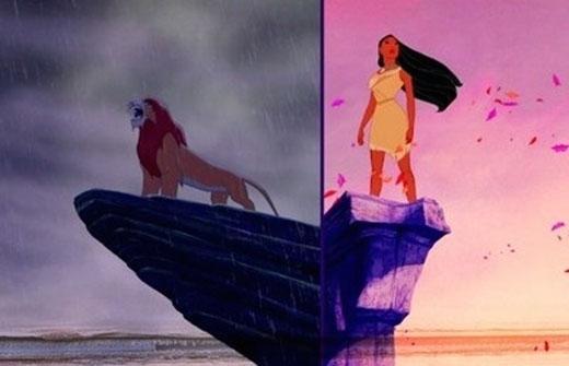 Phim The Lion King (Vua Sư tử) và Pocahontas(Công chúa da đỏ)được sản xuất trong cùng một thời điểm và người ta tin rằng nếu được ra mắt cùng nhau thì Pocahontas sẽ là phim thành công hơn.