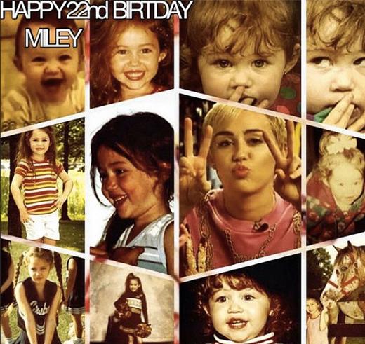 Miley Cyrus và hành trình 22 năm