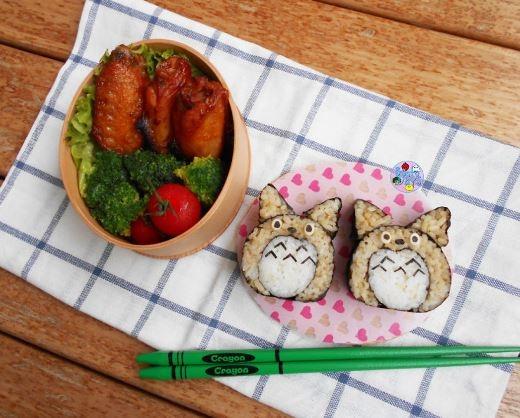 Sushi Totoro đáng yêu
