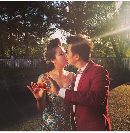 Rò rỉ ảnh cưới của Lê Khánh và chồng tương lai - Tin sao Viet - Tin tuc sao Viet - Scandal sao Viet - Tin tuc cua Sao - Tin cua Sao