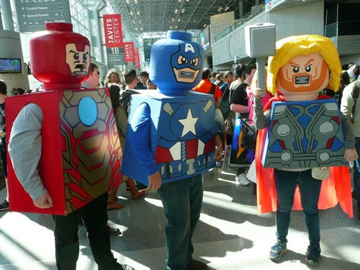 """Những nhân vật Comic được """"hóa trang"""" nhiều nhất thế giới"""