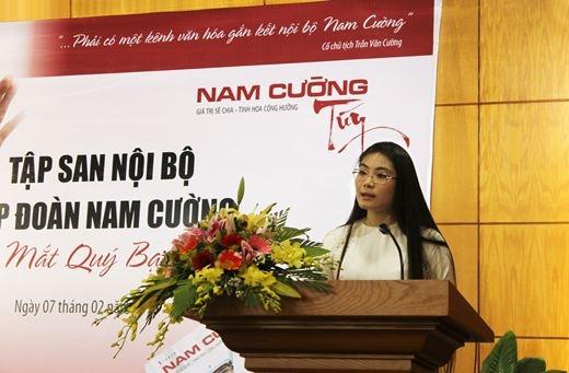 Ái nữ Chủ tịch tập đoàn Nam Cường Trần Thị Quỳnh Ngọc là người khá kín tiếng trước giới truyền thông.