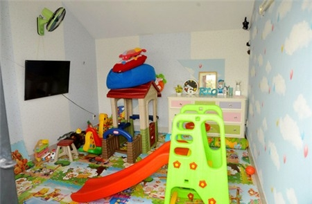 Phòng đồ chơi dành riêng cho cậu con trai Rio và cô công chúa Cherry vừa ra đời. - Tin sao Viet - Tin tuc sao Viet - Scandal sao Viet - Tin tuc cua Sao - Tin cua Sao
