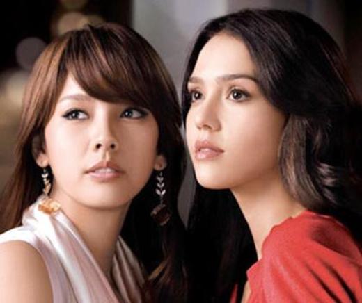 Lee Hyori và Jessica Alla