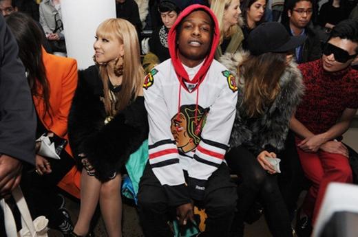 CL vàrapper nổi tiếng ASAP Rocky