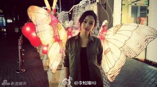 Lộ diện nữ thần trong mộng của dân mạng Trung Quốc