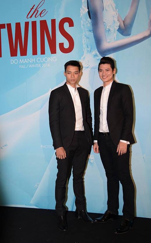 Hai siêu mẫu Vũ Mạnh Hiệp (trái) và Lê Khôi Nguyên - Tin sao Viet - Tin tuc sao Viet - Scandal sao Viet - Tin tuc cua Sao - Tin cua Sao