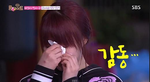 Youngji (Kara) khóc nức nở trong Roommate