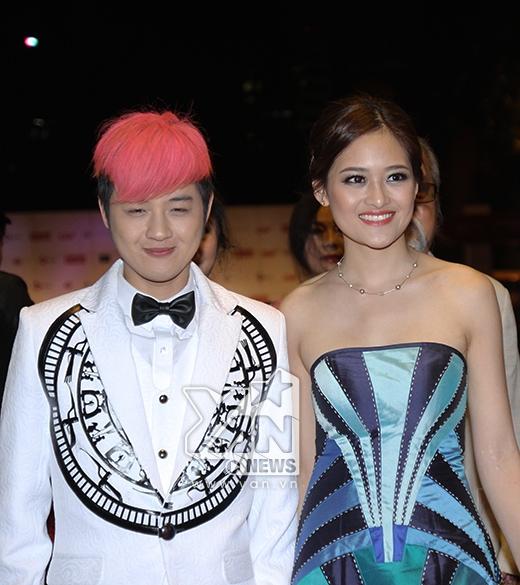 Nữ diễn viên Thùy Anh tay trong tay cùng ca sĩ Thanh Duy - Tin sao Viet - Tin tuc sao Viet - Scandal sao Viet - Tin tuc cua Sao - Tin cua Sao
