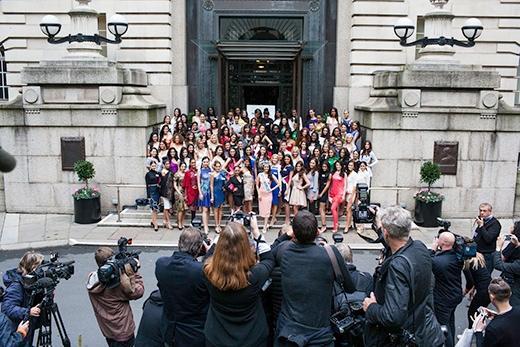 Miss World 2014 thu hút rất đông sự quan tâm của báo chí thế giới