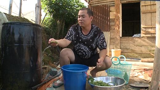 Minh Khang nhận nhiệm vụ rửa rau - Tin sao Viet - Tin tuc sao Viet - Scandal sao Viet - Tin tuc cua Sao - Tin cua Sao