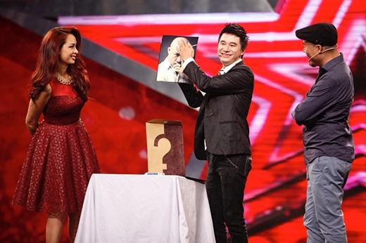 Cao Luận là một trong những ảo thuật gia nổi bật của mùa giải năm nay khi đã trình diễn một tiết mục duyên dáng trên sân khấu vòng loại cùng hai giám khảo Thuý Hạnh, Huy Tuấn.