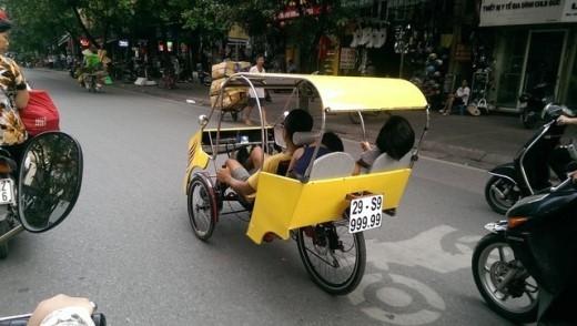 Xe tự chế cực tiện dụng.