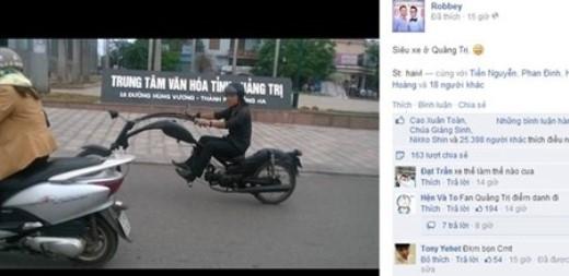 Siêu xe độc nhất vô nhị ở Quảng Trị gây xôn xao