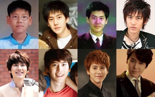 Kyuhyun dường như không thay đổi gì nhiều so với thời thơ ấu của mình. Khuôn mặt dần có nét hơn khi anh bắt đầu trưởng thành và trở thành chàng hoàng tử ballad hiền lành và điển trai như ngày hôm nay.
