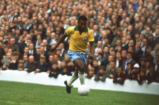 1. Pele (ĐT Brazil).