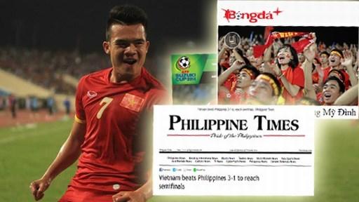 Báo chí trong và ngoài nước khen ngợi chiến thắng của ĐT Việt Nam tối qua