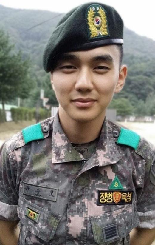 Yoo Seung Ho 'cực tươi' trước ngày xuất ngũ