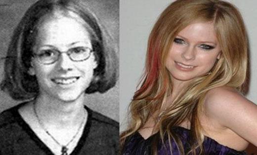 Choáng với hình ảnh sao ngoại trước và sau khi nổi tiếng