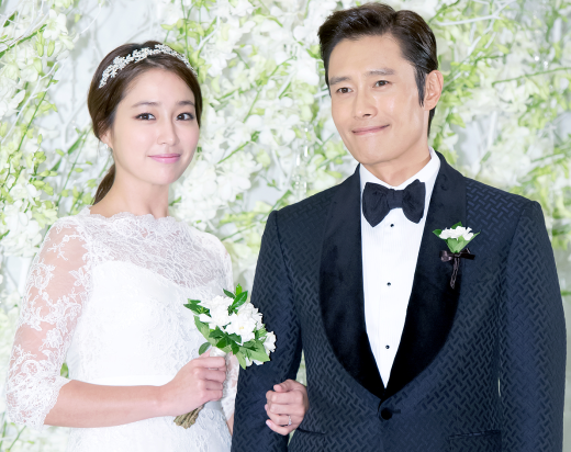 Lee Byung Hun - Lee Min Jung