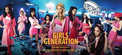 SNSD là nhóm nhạc nữ duy nhất lọt vào top 10 này